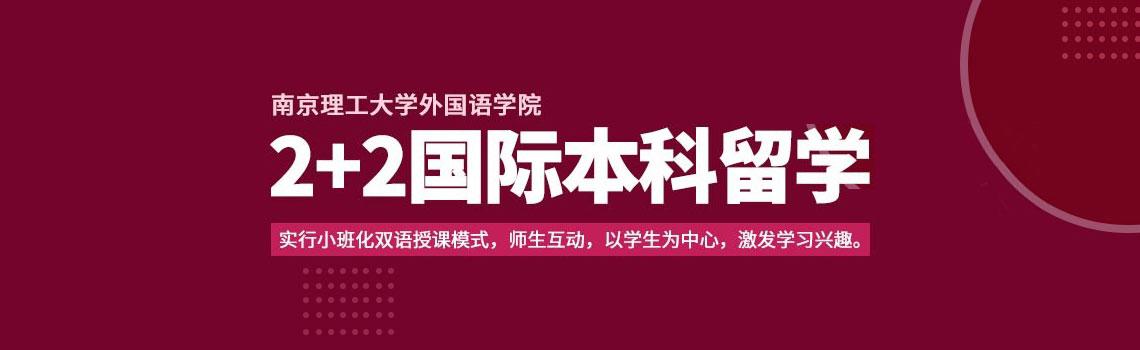 南京理工大学外国语学院2+2国际本科留学招生简章
